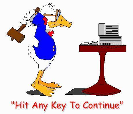 Hit any key...