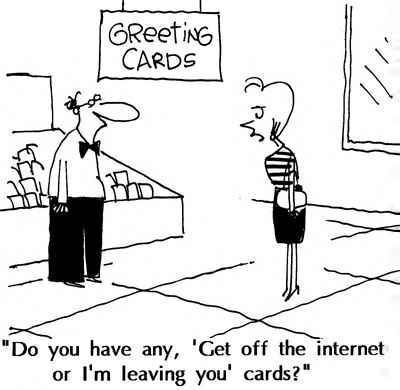 Get offline!